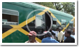 Jamaican train resumes passenger service thumb